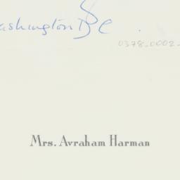 Letter: 1963 April 5