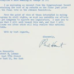 Letter : 1959 January 14