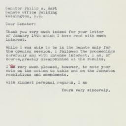 Letter : 1959 January 16