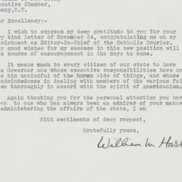 Letter : 1939 November 29