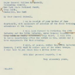 Letter : 1938 June 16