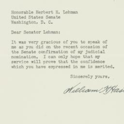 Letter : 1950 July 27