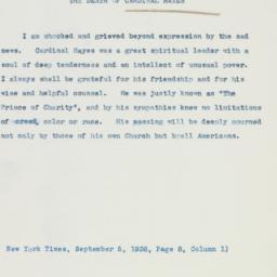 Letter : 1938 September 5