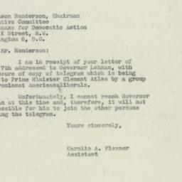 Letter : 1947 June 10