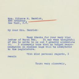 Letter : 1939 March 10