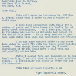 Letter : 1940 May 7