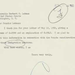 Note : 1952 May 13