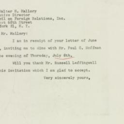Letter : 1948 June 25