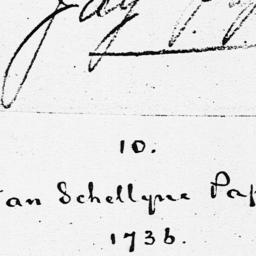Document, 1736 October 30