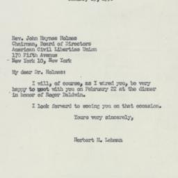 Letter : 1950 January 25