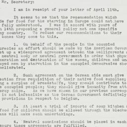 Letter : 1941 April 24