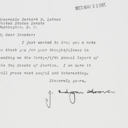 Letter: 1955 May 27