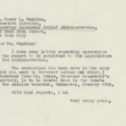 Letter: 1932 January 19