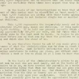 Letter: 1932 March 3