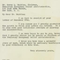 Letter: 1932 December 29