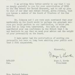 Letter : 1947 January 7
