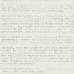 Letter: 1940 January 4