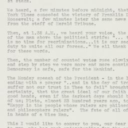 Letter : 1940 November 6