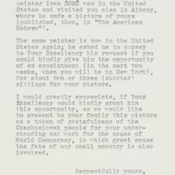 Letter : 1941 April 2