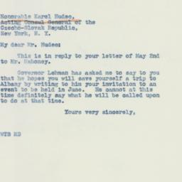 Letter: 1942 May 5
