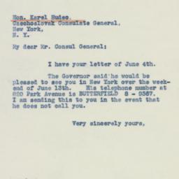 Letter: 1942 June 6