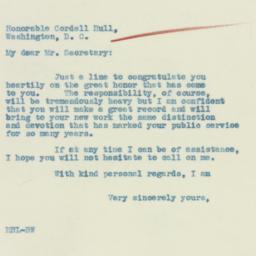 Letter : 1933 February 28