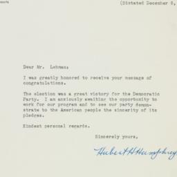 Letter: 1948 December 11