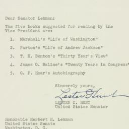 Letter : 1952 January 23