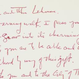 Letter : 1961 August 6