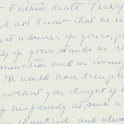 Letter : 1958 February 24