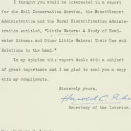 Letter : 1936 February 20