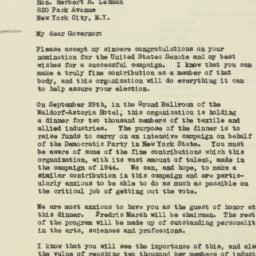 Letter : 1946 September 12