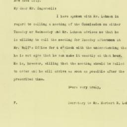 Letter : 1925 August 29