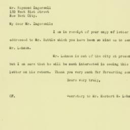 Letter : 1925 December 16