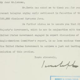 Letter : 1946 July 2
