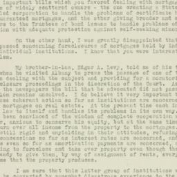 Letter : 1933 April 12