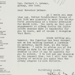 Letter : 1936 February 7
