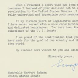 Letter : 1956 October 5