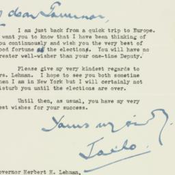 Letter : 1946 October 28