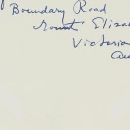 Envelope : n.d.