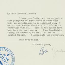 Letter: 1940 July 9