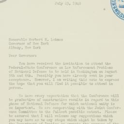 Letter: 1940 July 23
