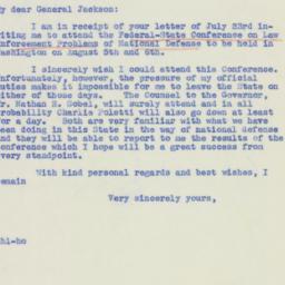 Letter : 1940 August 1