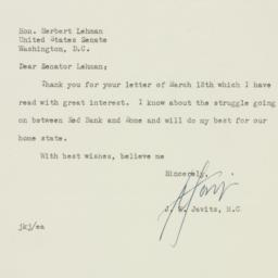 Letter : 1950 March 22