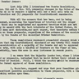 Letter : 1954 January 11