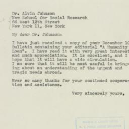 Letter : 1945 December 19