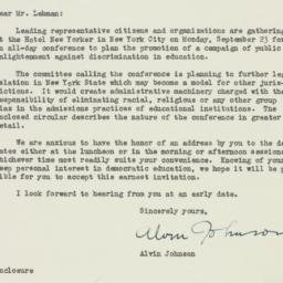 Letter : 1946 August 5