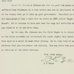 Letter : 1942 January 16