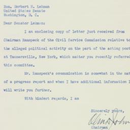Letter : 1951 December 26