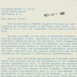 Letter : 1952 June 3